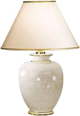 Austrolux 0014.73.3 Lampe de table Céramique, E27, 100 W, 30 x 30 x 43 cm