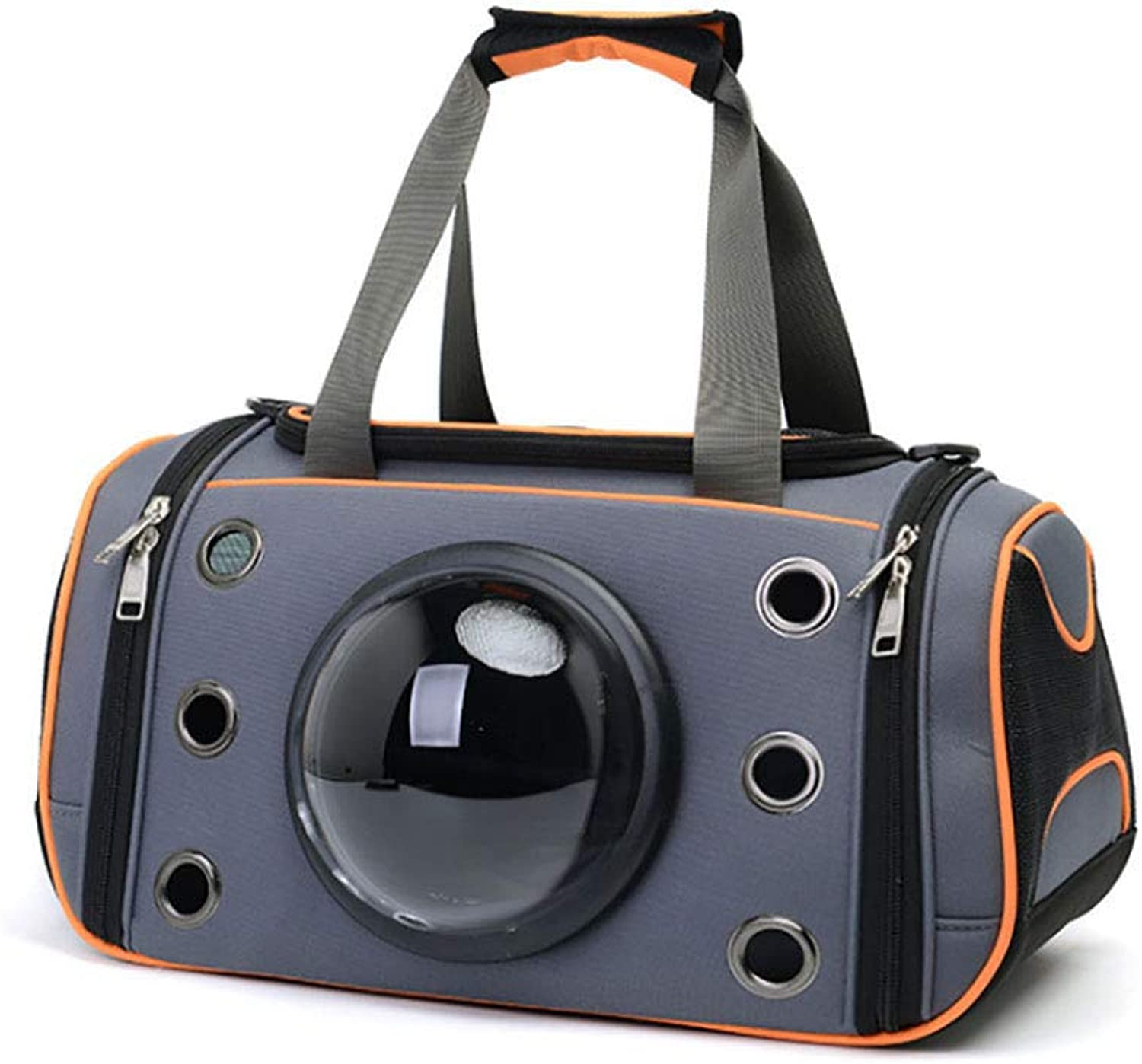 LIULINCUN Fashion Pet Carrier Cats and Dogs Outing Portable Handbag Space Pet Tote Dog Purse for Travel Walking Hiking