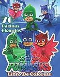 PJ Masks Libro Colorear: MEJOR libro para colorear para niños y fanáticos