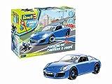 Revell Junior Kit - Porsche 911 Carrera Voiture à Construire, 821, Bleue