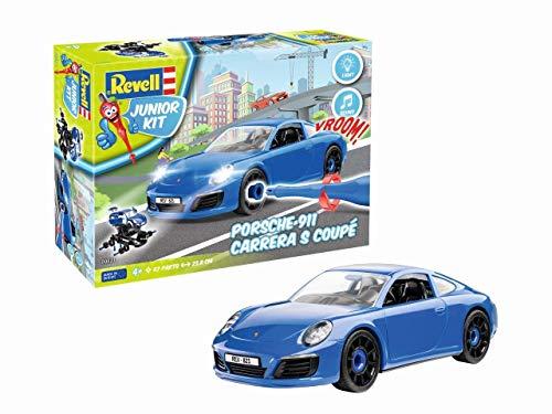 Revell- Porsche 911 Carrera S Vehículo para Construir y Jugar,, Länge ca. 23,8 cm (00821)