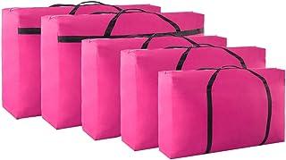 Sacs pour vêtements Sac de rangement en toile Oxford en tissu épais Sac de rangement pour sac de rangement de grande capac...