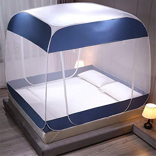 JIAJBG Anti Mosquito Redes Pop Up Mosquito Net Bed Tienda, Uso Doméstico Tres Puertas Mosquito Net, con Mosquiteras Inferiores Nettings Portátil Plegable, para Niños Pequeños para