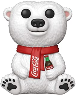 Iconos de anuncio Funko Pop: Coca-Cola - Oso Polar, Multicolor