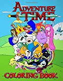 Adventure Time Coloring Book: 50+ Coloring Pages of your favourite characters from The Land of OOO E...