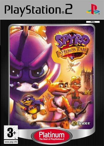 Spyro A Hero's Tail Platinum Edizione Regno Unito