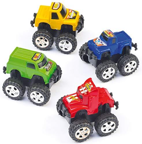 """Baker Ross Mini-Aufziehautos \""""Monster-Trucks\""""(5 Stück)"""