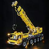 BRIKSMAX Kit de iluminación LED paraTechnicGrúa móvil MK II - Compatible con Lego 42009 Building Blocks Model- No incluir el Conjunto de Lego