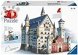 Ravensburger - 3D Puzzle Building Castillo de Neuschwanstein (12573 9)