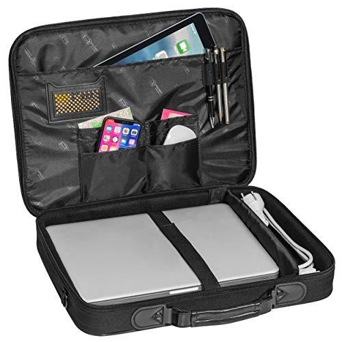 Pedea Laptoptasche Trendline Umhängetasche Messenger Bag 13,3/15,6/17,3/18,4/20,1 Zoll (13,3 Zoll, Tasche mit Maus)