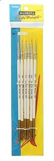 B Corona H430-3 Set of 3 Paint Brushes, Round - White
