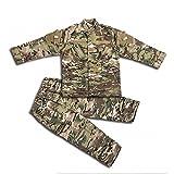 H World EU Tactique Airsoft Enfants Vêtements Enfants BDU Chasse Militaire Camouflage...