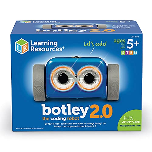Learning Resources Botley the Coding Robot 2, Coding Robot for Kids, STEM Toy, Early Programming, Ages 5+