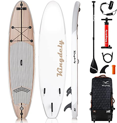 Kingdely Inflatable Paddle Board