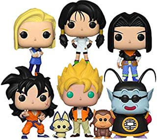 "Funko Pop! Animation: Dragon Ball Z Series 5 Collectible Vinyl Figures, 3.75"" (Set of 6)"