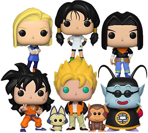 "Funko Pop! Animation: Dragon Ball Z Series 5 Collectible Vinyl Figures, 3.75"" (Set of 6) image"