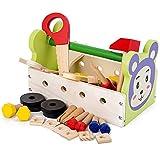 JW-YZWJ Caja de Herramientas Set Juguetes Play House Mantenimiento Reparación Puzzle Infantil Intelligence Development Tornillo de Juguete,C