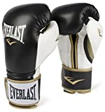 Best Boxing Gloves 16ozs - Everlast PowerLock Training Gloves blk/Wht PowerLock Training Gove Review