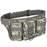 SimpleLife Outdoor Utility Tactical Waist Pack Bolsa Military Camping Bolsa de Senderismo Bolsas de cinturón