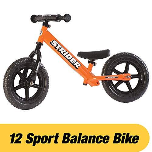 Strider – Draisienne 12 Sport, de 18 mois à 5 ans, Orange