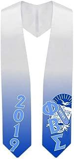 Custom Phi Beta Sigma Super Crest - Shield Graduation Stole