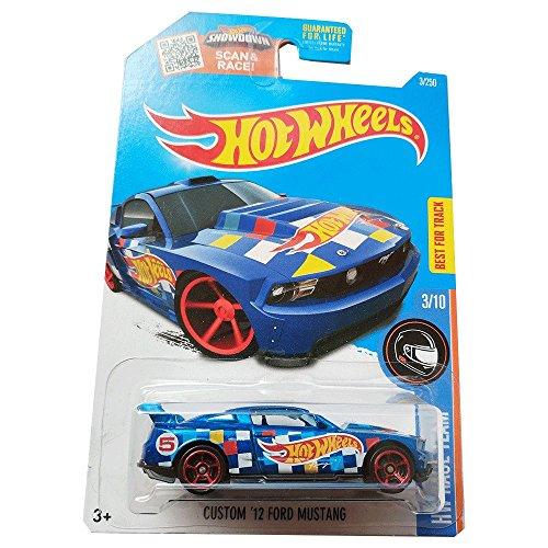 Hot Wheels Custom \'12 Ford Mustang - HW Race Team - 3/250
