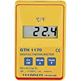 Greisinger GTH 1170 Präzisions-Thermometer, schnelle Reaktion, Temperaturmessgerät, -65 bis +1150 °C