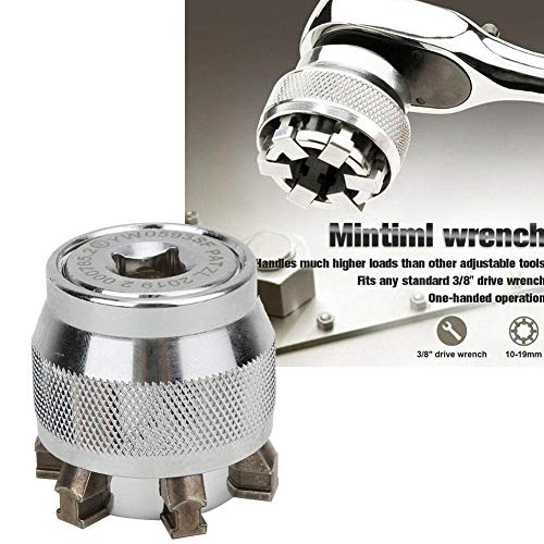 Magical Adjustable Universal Socket Wrench for 10~19mm 3/8~3/4in Nut