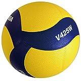 ミカサ(MIKASA) バレーボール 練習球 4号(中学生・婦人用) 黄/青 V425W