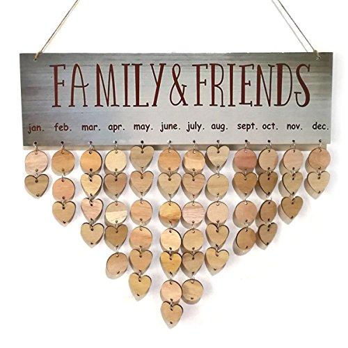 houten kalender kruidvat