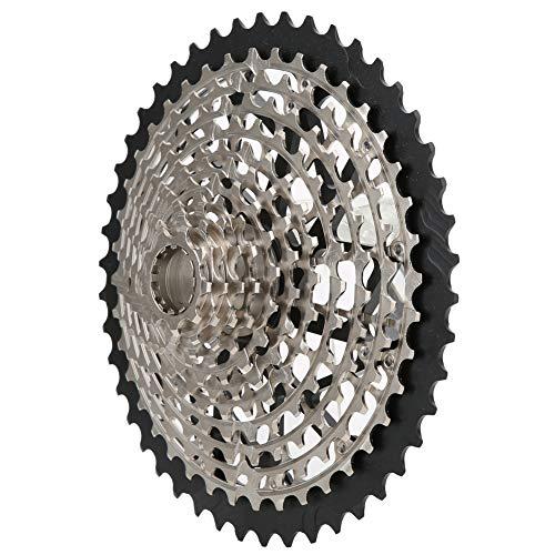 Zer one1 Bicycle Flywheel, Durable Bicycle Accessory Bicycle Freewheel, Lightweight Mountain Bike for Road Bike