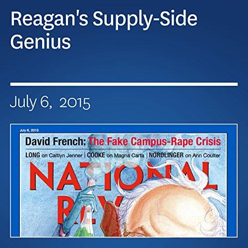 Reagan's Supply-Side Genius audiobook cover art