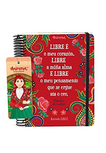 Animosa - Axenda anual 2022 A5 Rosalía Libre