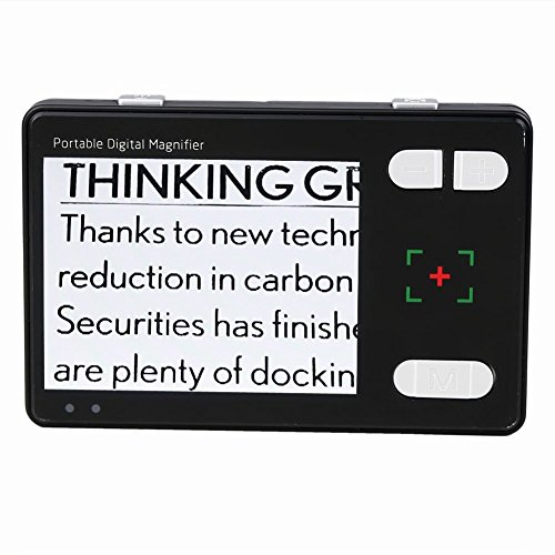 Koolertron 3.5 inch Portable Digital Magnifier Reading Aid Vision Care Video 2X-24X HD Video Out