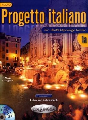 Nuovo Progetto italiano 1a für deutschsprachige Lerner - Lehr und Arbeitsbuch