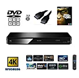 Panasonic DMP-BDT380 (MULTIREGION FOR DVD) Smart , 4K Upscaling, Blu-Ray Player with Built