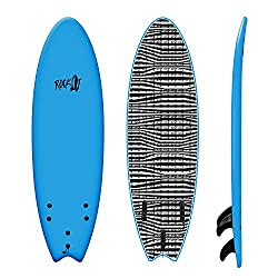 "Rock It 5'8"" Albert soft top surfboard"