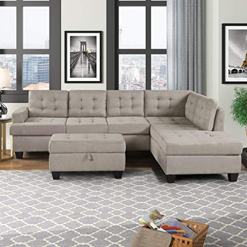 Sofa 3-Piece Sectional couches