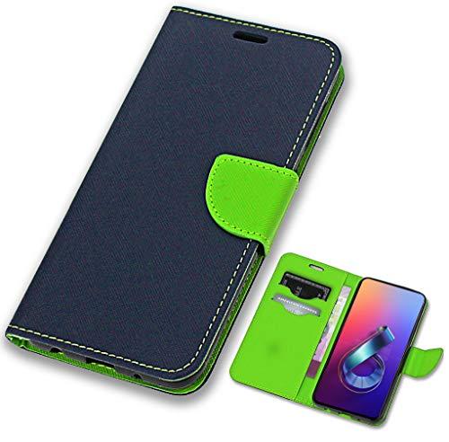 CoverOne Handyhülle für Zenfone 6 ZS630KL Hülle, Premium Leder Flip Schutzhülle Handytasche Hülle Cover für Asus Zenfone 6 ZS630KL 2019 Tasche