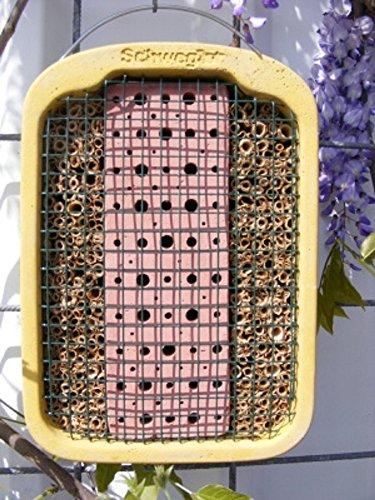 Schwegler 00377/5 Insekten-Nistwand 21,5 x 30 x 12 cm