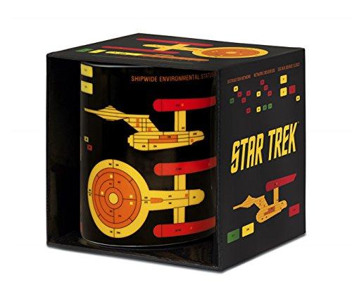 Logoshirt Star Trek - Starship Graph Porzellan Tasse - Kaffeebecher - farbig - Lizenziertes Originaldesign