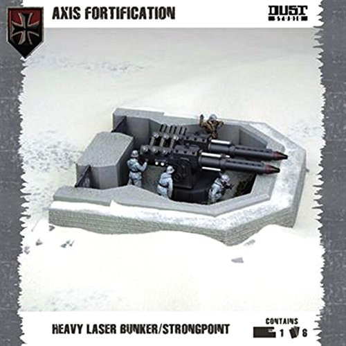 Flames of War Dust Tactics - Axis Fortification Heavy Laser Bunker - DT073A
