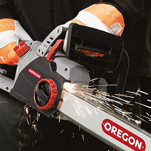 Oregon CS1500, Motosega Elettrica da 2400 W a Basso Contraccolpo, Potente Sega Elettrica Silenziosa con Sistema di Autoaffilatura Integrato PowerSharp (604419)
