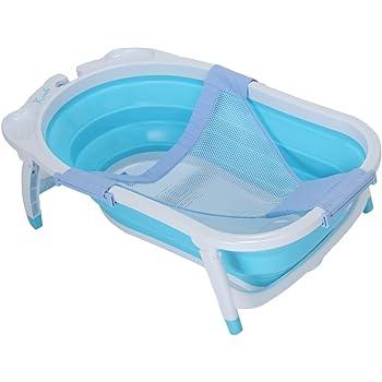KARIBU [ カリブ ] バスネット Baby Bath Net Blue ブルー PM3311 折り畳み式 バス ネット 【※本体は別売りです】