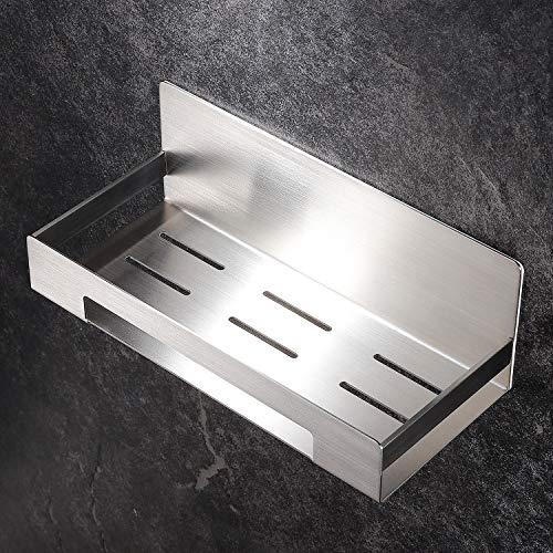 YIGII Duschregal Ohne Bohren Duschablage Edelstahl Duschkorb Selbstklebend für Badezimmer