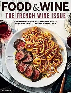 food & wine mag