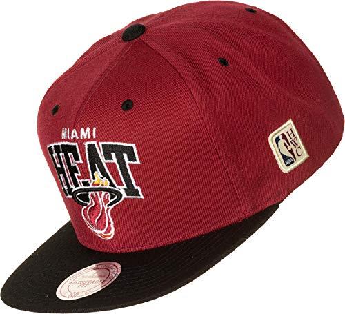 Mitchell & Ness Snapback Cap Team Arch HWC Miami Heat Red/Black