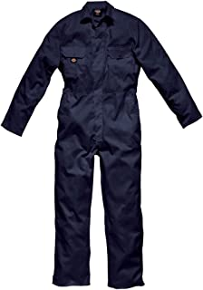 """Dickies WD4819T NV XXL Size 2X-Large """"Redhawk Economy Stud"""" Coverall - Navy Blue"""
