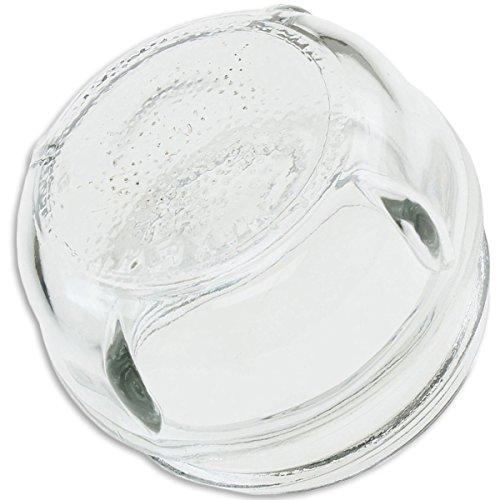 Cubierta de lámpara, cúpula de Ø 68 mm, de vidrio, adecuada para Bosch, Siemens, Neff 647309/Küppersbusch 502376