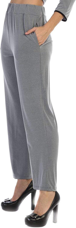 By JJ WrinkleFree Modal Straight Leg Pant